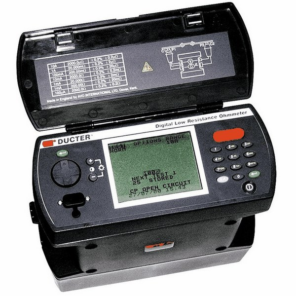 Measuring Resistance With Ohmmeter : Megger digital low resistance ohmmeter dlro doğa limited
