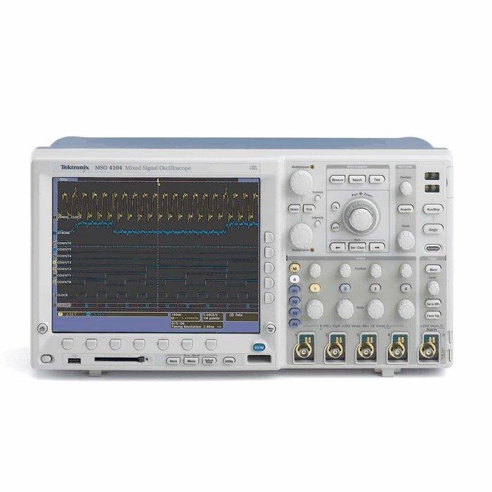 Digital Analog Oscilloscopes : Tektronix mso mixed signal digital phosphor